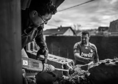 Photo batiment travaux public démolition à Lyon bourgoin-jallieu Benoit Gillardeau