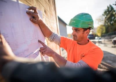 chef de chantier à Lyon bourgoin-jallieu Benoit Gillardeau
