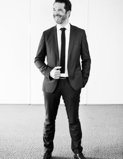 Photographe de portrait en entreprise noir et blanc à Lyon bourgoin-jallieu Benoit Gillardeau