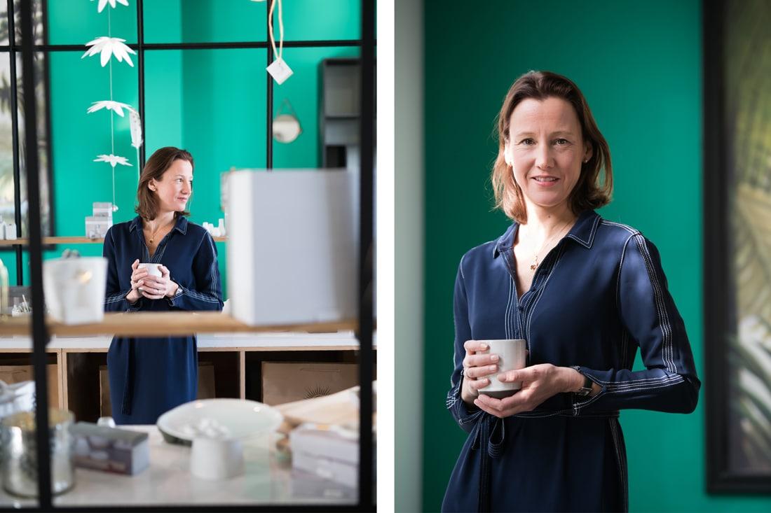 Portrait de Floortje décoratrice d'intérieur
