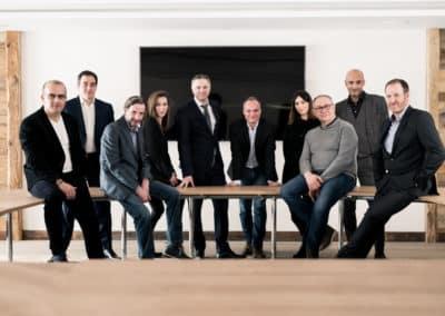 Photographe de portrait et groupe en entreprise à Lyon bourgoin-jallieu Benoit Gillardeau